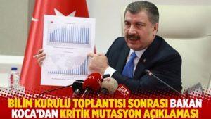 TOPLANTI SONRASI AÇIKLAMA GELDİ